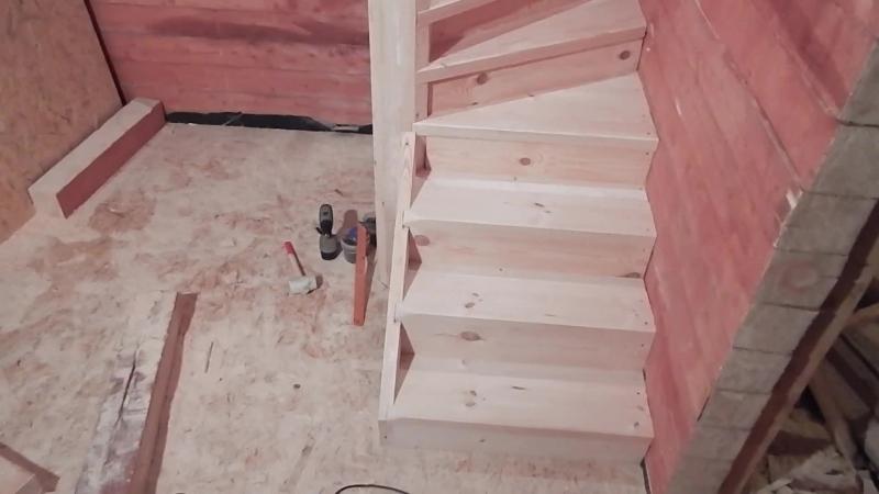 Винтовая лестница .своими руками,для дома и дачи.(моя работа).