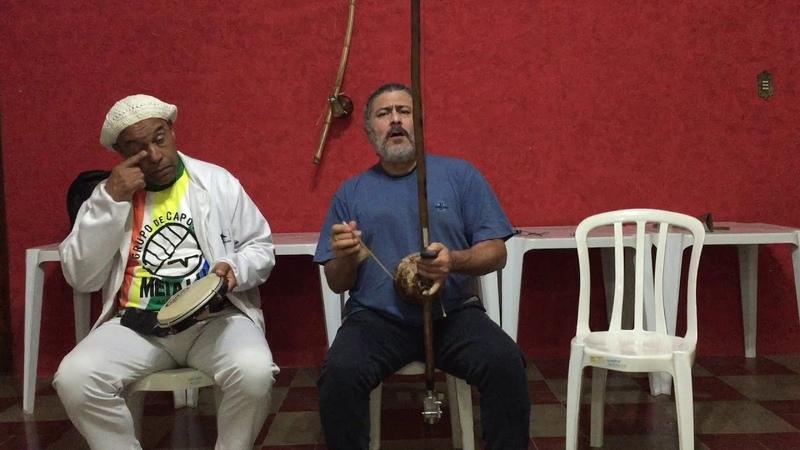 UNICAPOEIRA: Gr. Meia Lua/26abr62. Clube Cultural Tiguera. Polêmico, Professor, Ana. Som. 07ago18