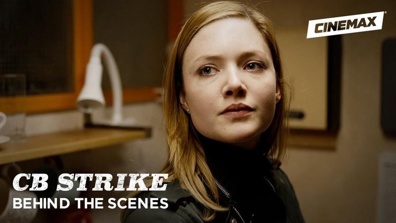 C.B. Strike | The Silkworm Behind the Scenes | Cinemax