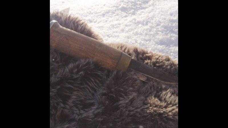 |RL| Чистим нож от ржавчины