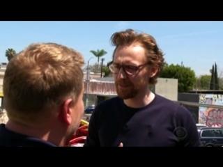 James Corden & Tom Hiddleston