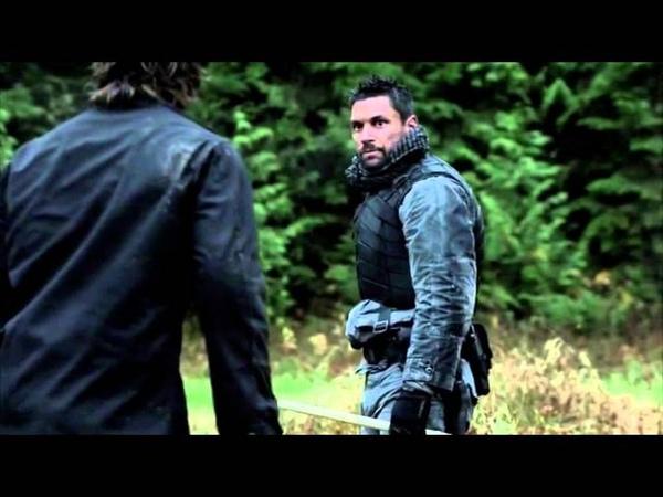 Slade Wilson Training Oliver Queen Arrow Episode 14