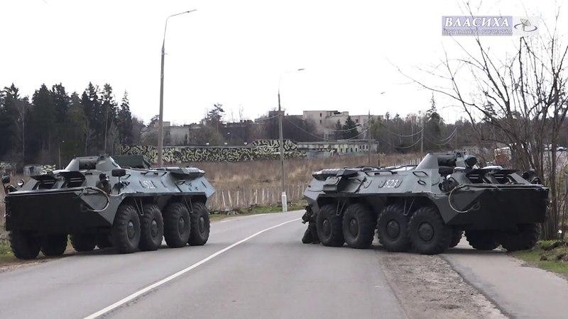 Ракетные войска провели очередные учения во Власихинском гарнизоне
