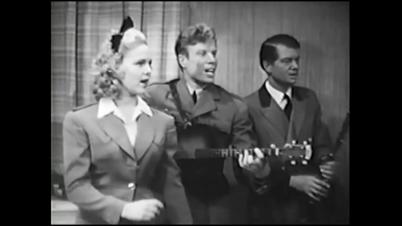 Judy Clark, Jimmie Dodd, Bobby Worth and Louis Da Pron Sing And Tap Dance