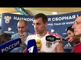 Dziuba - about Ramos, Pique, De Gea, Spain and Rocky Balboa World Cup.