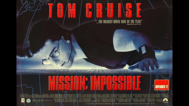 Миссия: невыполнима 1996 Гаврилов VHS