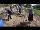 Заложен яблоневый сад в Параклитовом скиту