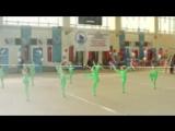 Соревнования по эстетической гимнастике. Команда
