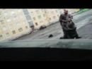 Драка Норильских мужиков из-за Украины - Russian Cave People Политическое шоу К Барьеру в Норильской луже 2016