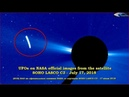 UFOs on NASA official images from the satellite SOHO LASCO C3 - July 17, 2018 НЛО возле Солнца