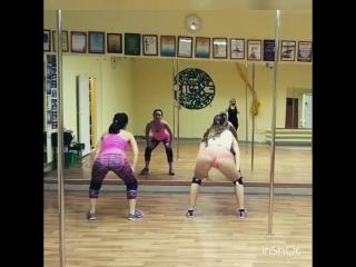 NinaJH /Exotic Dance Hall Booty Dance 💚 💜