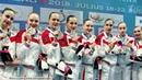 Начемпионате мира посинхронному плаванию сборная России взяла все золото турнира