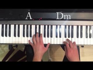 ALEKSEEV - Пьяное солнце, красивый кавер на ПИАНИНО,piano cover,Обучение