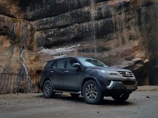 Toyota Fortuner в Грузии