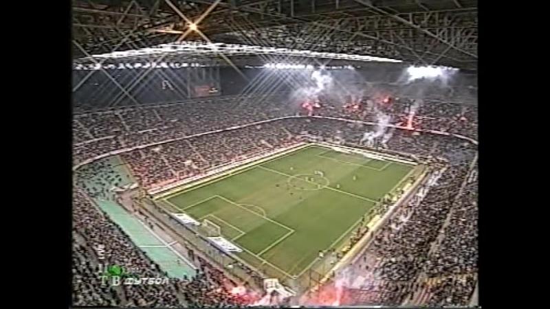 чемпионат италии 20042005, 10-й тур, Милан - Рома, нтв