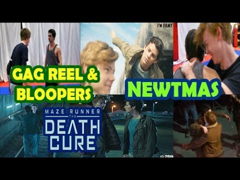 Newtmas on Maze Runner The Death Cure - Bloopers n Gag Reel