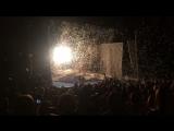 Яркий конец Снежного шоу Славы Полунина