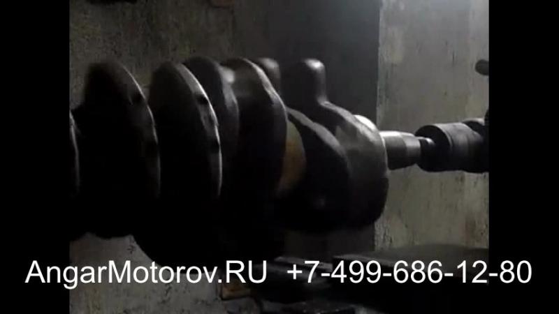 Ремонт Коленвала Audi A4 2.0 TFSI Шлифовка Шеек Правка Наплавка Коленчатого вала Полировка Сварка