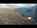 Падение Convair CV-340 в ЮАР (съемка пассажиром из салона)