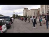 «Живой щит» вокруг МГУ