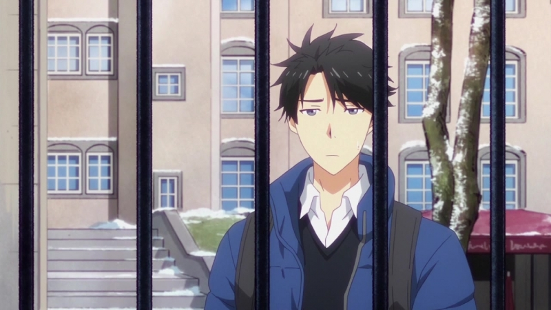 Tada-kun wa Koi wo Shinai 12 серия русская озвучка Shoker / Тада не может влюбиться 12