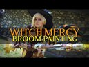 Witch Mercy Broom | Painting | Cosplay Build