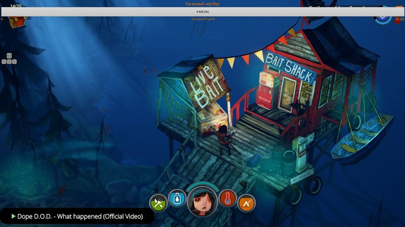The Flame in the Flood 1 стрим