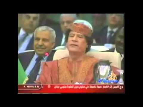 Kadhafi se dispute avec lArabie Saoudite.