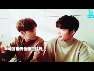 one of those precious woogyu moments - why they so cute laughing together -.mp4