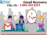 Get The Instant And Adequate Help Via Gmail Recovery 1-866-359-6251