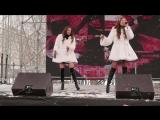 Елизавета и Анна Родины-Рейс на Милан