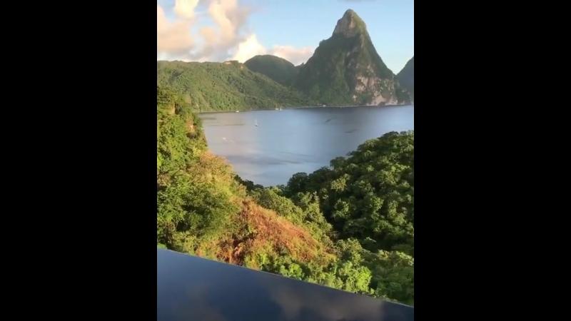 Отель Jade Mountain Resort 5*, Сент-Люсия