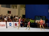 Gymnastics - FIG Acro World Cup Maia 2012 - RUS WG Senior Balance Ekaterina