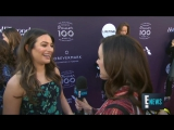 Lea Michele Talks L.A. Wild Fires and Holidays - E! Live from the Red Carpet