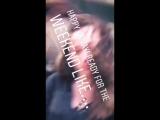 Alycia Debnam-Carey with Colman