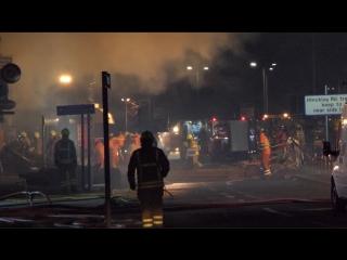 Взрыв в британском городе Лестер