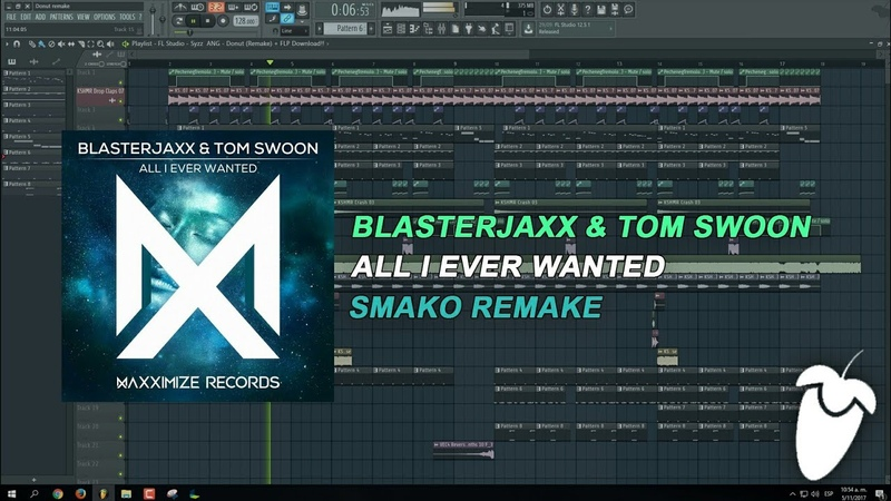 Blasterjaxx Tom Swoon All I Ever Wanted Original Mix FL Studio Remake FLP