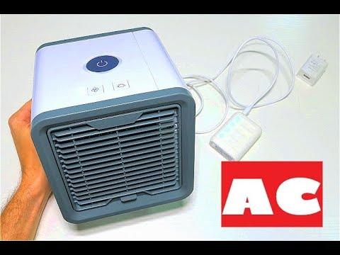 Переносной USB Кондиционер в дорогу Airflower Quick Air Cooler Easy Arctic Air Personal Space Cooler