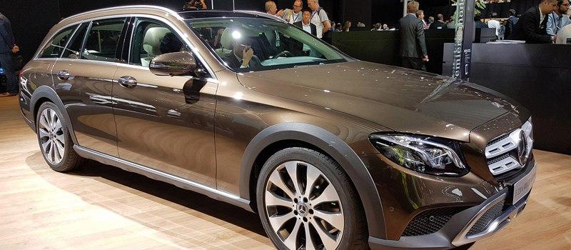 Mercedes-Benz выпустила внедорожный Е-класс