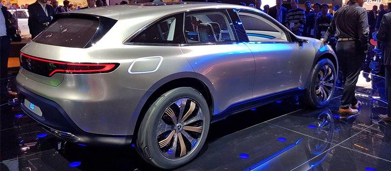 Mercedes-Benz запускает новый бренд EQ