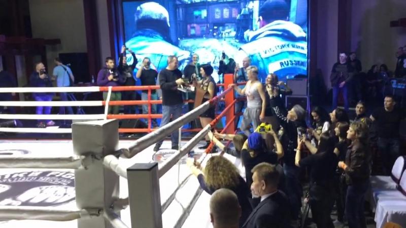 Екатерина Раковская vs Дарья Иванова. Bike Fight. 21.04.18. Награждение.