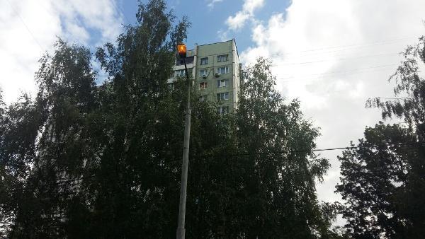 Освещение восстановили на участке Новгородской улицы