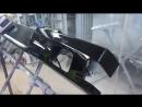 Mercedes GL ремонтируем бампер и панель фонаря