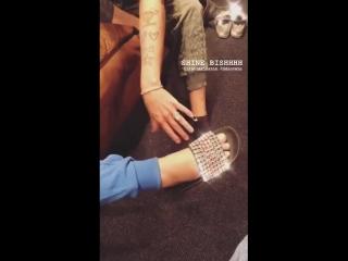 Demi via Instagram story (brandoncolbein)