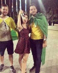 "✖️ANASTASIA✖️ on Instagram: ""@__kerrykeller__ смотри что я нашла😂😂давайте снова 10к просмотров😄❤️#brazil#fanzone#чм2018 💥🎉🏆⚽️💃🏻 @d.figueiredo"""