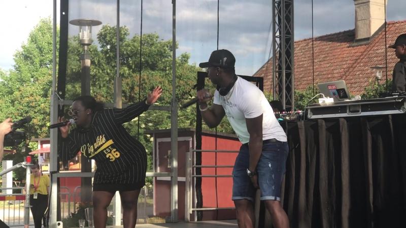 Chelsea Muco plus Boy Electric Festival Akalla By Sweden 16.06.2018
