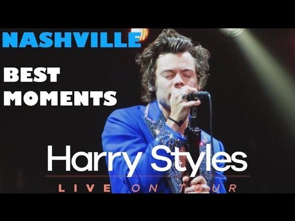 HARRY STYLES HIGHLIGHTS FROM NASHVILLE, TN 2018
