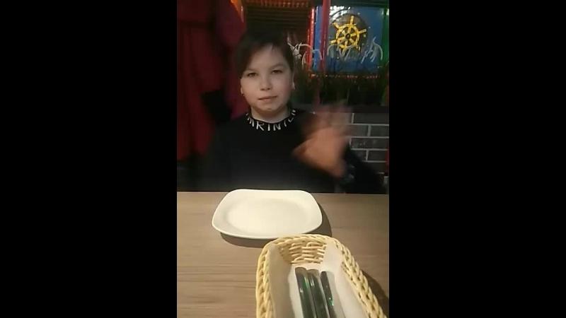 В пиццерии