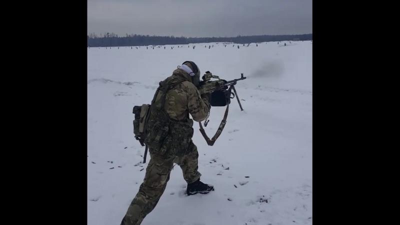 Пулеметчик СпН РФ. Короб на 125 от Ротор43 | Anti Terror Forces | ATF