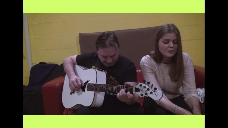 Артель Роса - Из-за синих гор (репетиция)